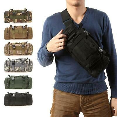 Utility Tactical Waist Pack Outdoor Bag Pouch Military Camping Hiking Belt Best