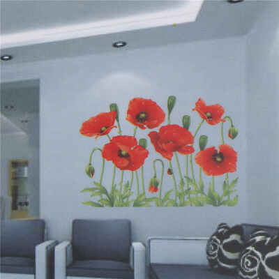 Beautiful Large Love Flower Removable Vinyl Decal Wall Sticker Home Room Decor^P