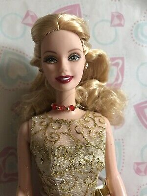 Barbie Mattel Home For The Holidays Doll 2001 Target Special Blonde Beautiful