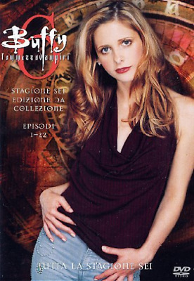 Buffy L'Ammazzavampiri - Stagione 06 Box Set (6 Dvd) - (Italian Imp... DVD NUOVO