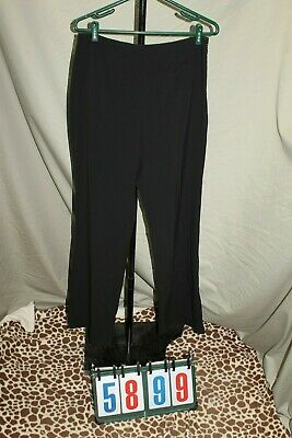 Gloria Vanderbilt Stretch Black Slacks Pants Womens Size 10