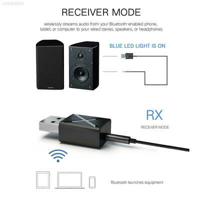 2ECE Universal Bluetooth5.0 Bluetooth Audio Receiver Aux Transmitter 2 in 1 USB