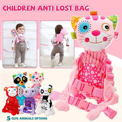 Kid Child Harnesses Anti-lost Bag Safety Buddy Toddler Walking Strap Doll !