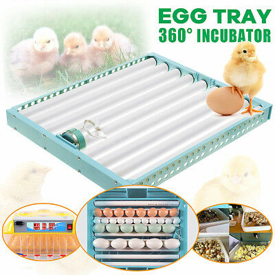 360°Turning Automatic Egg Poultry Hatch Chicken Quail Duck Incubator Turner