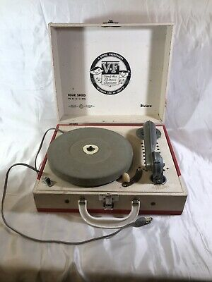 A Kiddie Phonograph V-F Vanity Fair Electronics Corp