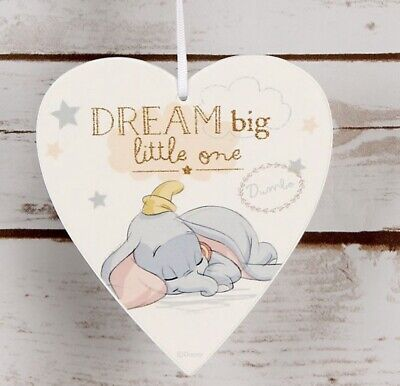 Dumbo Baby Wooden Ornament