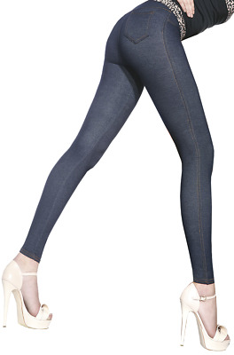 Leggings in Jeansoptik * Gr. S-XXL * Damenleggings Leggins Damen Hose Jeans-Look