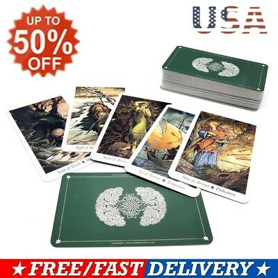 78Pcs/Set Cards Wild Wood Tarot Cards Beginner Deck Vintage Fortune Telling