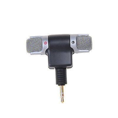 3.5mm ECM-DS70P Electret Condenser Wireless Stereo Microphone For PC MD Nice@F