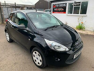 Ford Ka 1.2 Style 61 Reg In Black With 82,000 Miles And Mot July 2020
