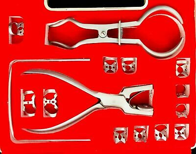 New Dental Rubber Dam Kit Ainsworth Brewer Winged Rubber Dam Clamps Forceps Fram