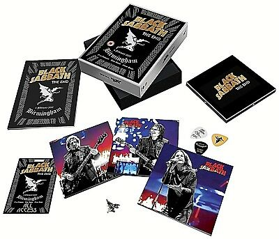 Black Sabbath - The End (DVD, Blu Ray & 3 CD's) DELUXE BOX SET + Extras SEALED !