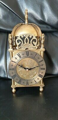 Brass Mantle Clock Spares Or Repair