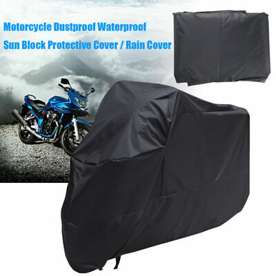Large Motorbike Cover Extra XXL Outdoor Waterproof Motorcycle All Weather Rain