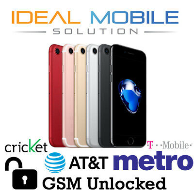 Apple iPhone 7 32GB / 128GB (GSM Unlocked) AT&T / T-Mobile / Metro / Cricket