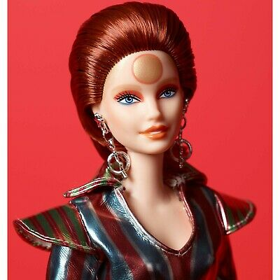 Barbie doll David Bowie Barbie 2019 New in Box Gold Label in Hand