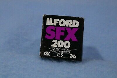 ILFORD SFX B&W FILM DX 135-36 ASA 200  EXPIRED June 1998 NOS