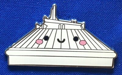SPACE MOUNTAIN Smiling Kingdom of Cute Mystery Box Disney Pin PinPics 122534