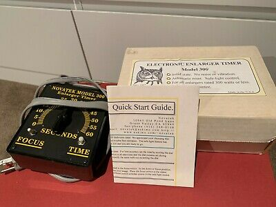 Novatek Model 300 Enlarger Timer w/ Box and Instructions