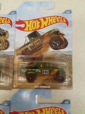 2019 Hot Wheels - Walmart Exclusive OFF-ROAD TRUCK SERIES Jeep Scrambler