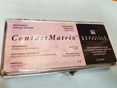 Danville Sectional Matrix System Megaring Trial Kit (NEW)
