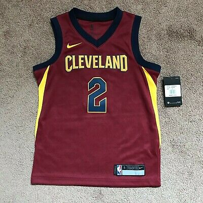 Nike Swingman Jersey Cleveland Cavaliers Kyrie Irving NBA Red Size Small NEW