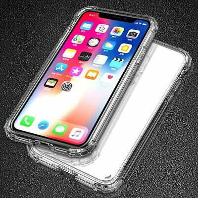 Case for iPhone 11 XR XS Max 8 7 6 6S Plus Shockproof Cover bumper TPU Silicone