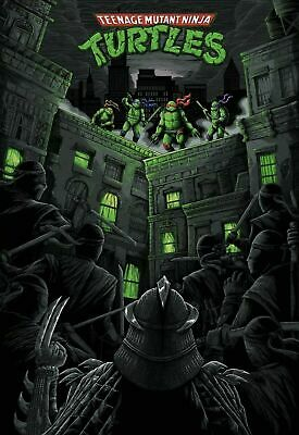 24x36 TMNT Teenage Mutant Ninja Turtles Out of the Shadows Movie Poster v10