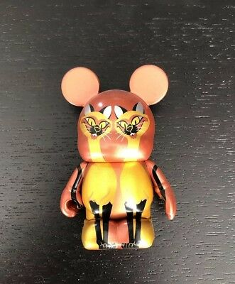 """DISNEY VINYLMATION 3/"""" VILLAINS SERIES 3 SI AM SIAMESE CATS LADY /& THE TRAMP TOY"""