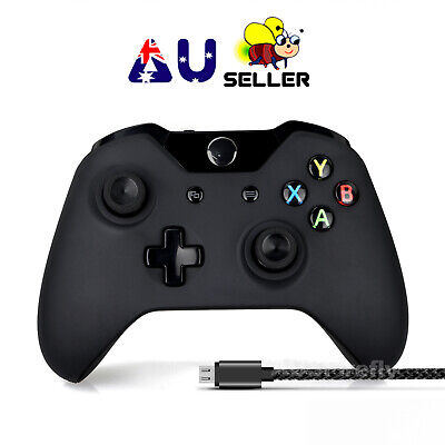 Wireless Bluetooth Game Controller Gamepad for Xbox One/X/S Windows PC+USB Cable