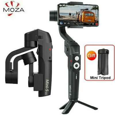 MOZA Mini-S Foldable Handheld 3-Axis Phone Gimbal Stabilizer for Android/ iPhone