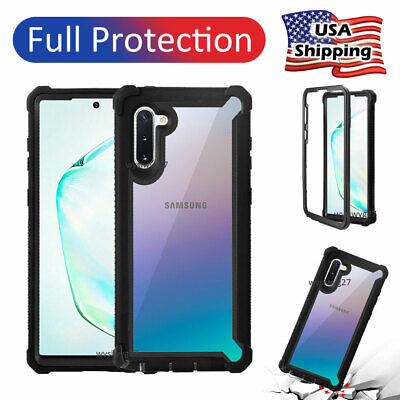 For Samsung Galaxy Note 10 9 Plus 8 S10 Plus Shockproof Hybrid Armor Case Covers