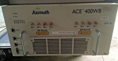 Azimuth Wireless Ace 400-WB Channel Emulator and Fading Simulator