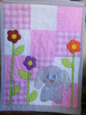 Puppy Quilt for Baby Girl!