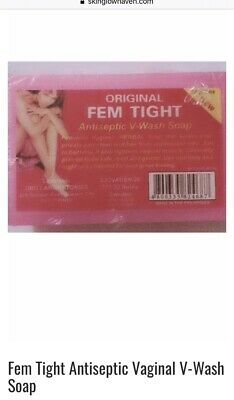 2x Fem Tight Antiseptic Vaginal V-Wash Soap