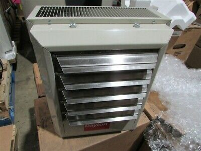 New Dayton 2YU63 Electric Utility Heater 480 Volts, 5 KW, 3 Phase