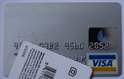Expired 06/2008 MBNA America Bank USA Visa Credit Card
