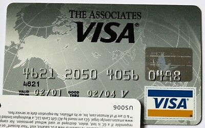 Expired 02/2004 The Associates National Bank Visa Credit Card