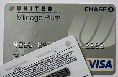 Expired 05/2008 Chase Bank United Airlines Visa Credit Card