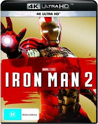 Iron Man 2 UHD : NEW 4K ULTRA HD Blu-Ray
