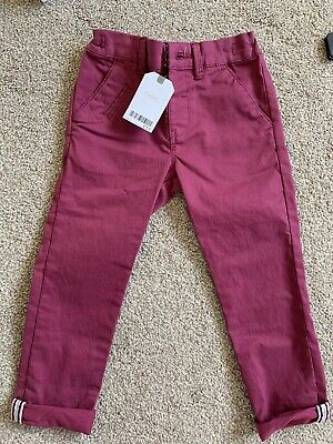 Next Boys Chino Style Trousers Age 2-3 Years. BNWT