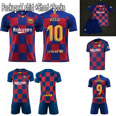 19//20 Soccer Boys Football Club For 2-13 Years Jersey Shirt Kids Kits /& Socks
