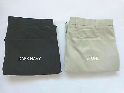 Mens Ex M&S Active Waist Regular Fit Stormwear Chinos Size 30 to 44 RRP £39.50