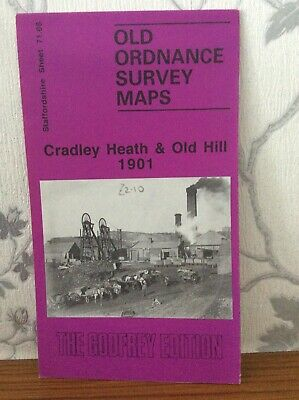 Old Ordinance Survey Map Cradley And Old Hill