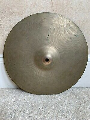 "Zildjian A 13"" Hi Hat Or Crash Cymbal 631 Grams"