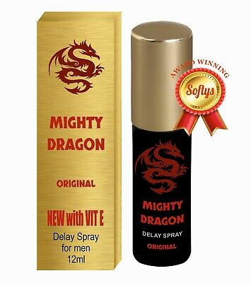 Mighty Dragon Extra Strong Delay Spray **Five Star Original** Not A Chinese Copy