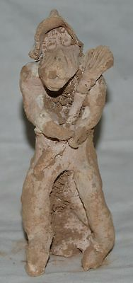 China Ancient Tomb Burial Hand Made Clay Figurine Statue Glazed Pottery 手工泥人 4