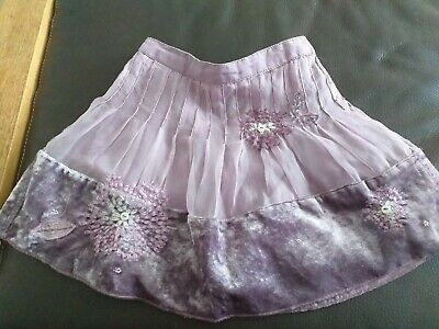 Baby Girl's Skirt From Next Age 9-12 Months silk purple