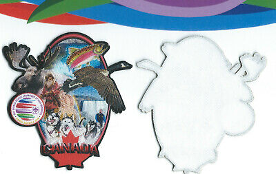 24th World Scout Jamboree 2019 Official Canada Host Country Photochromatic Patch