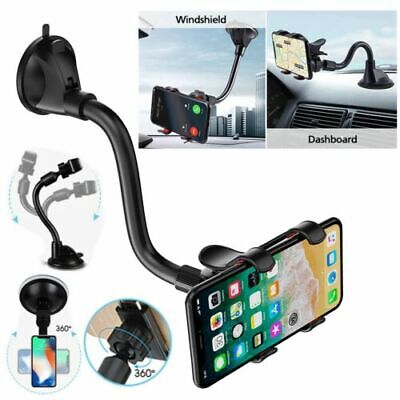 Universal 360° Windscreen Dashboard Holder Mount in Car For GPS Mobile Phone UK.